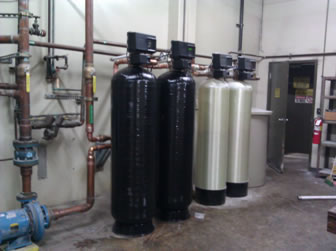 Commercial Water Softener Plus Multi Media Filter