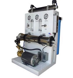 reverse osmosis water purification system for commercial use